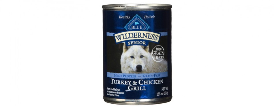 blue buffalo wilderness senior wet dog food