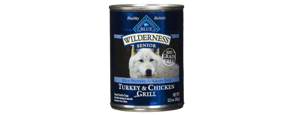 blue buffalo wilderness senior wet dog food