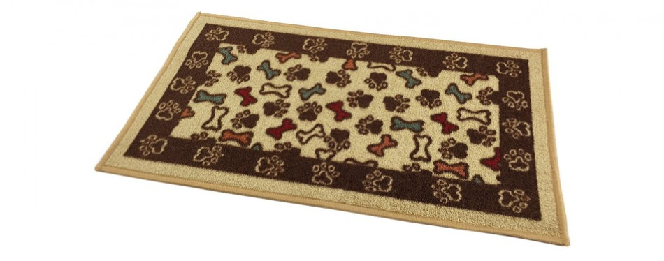 bones and paws rug