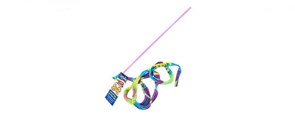 cat dancer cat charmer wand teaser toy
