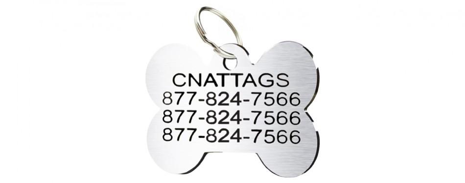 cnattags pet id tag