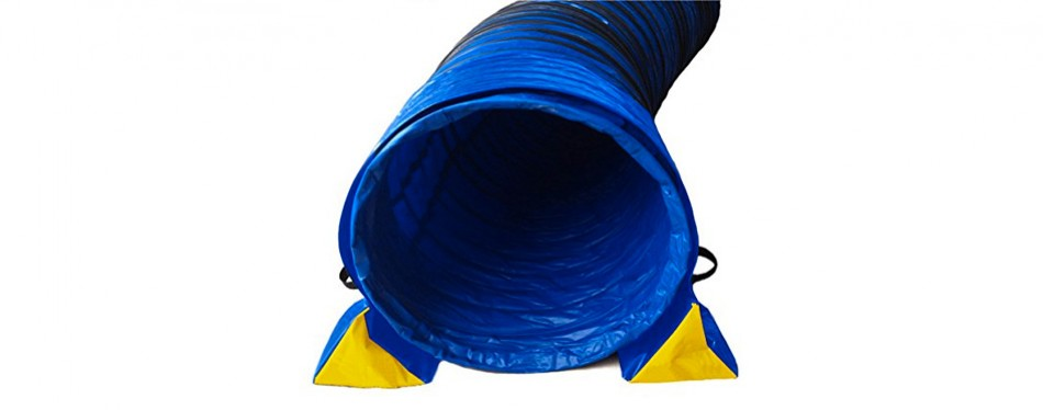 cool runners dog agility tunnel set