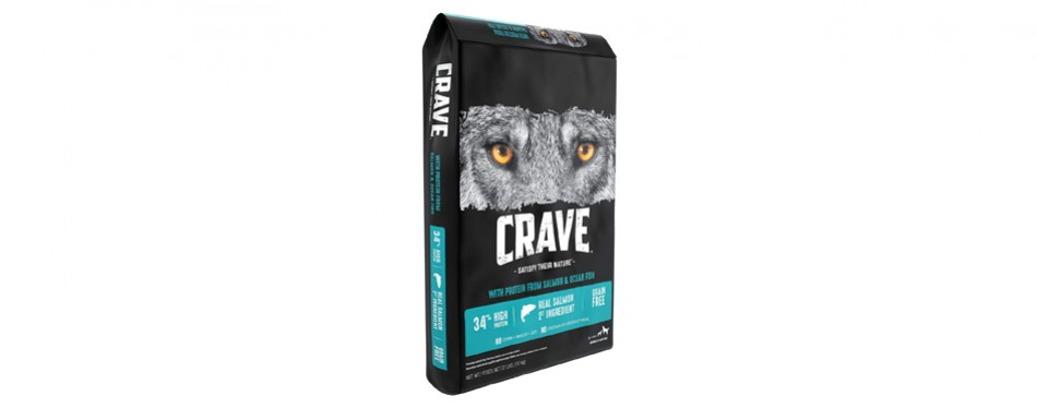 crave dog food with protein