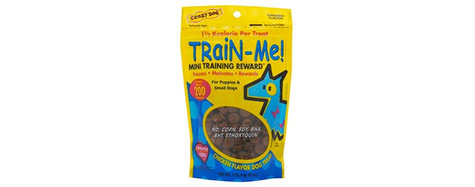 crazy dog train-me training reward mini dog treats