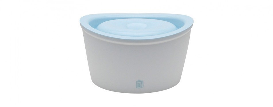dogit design fresh & clear dog water fountain
