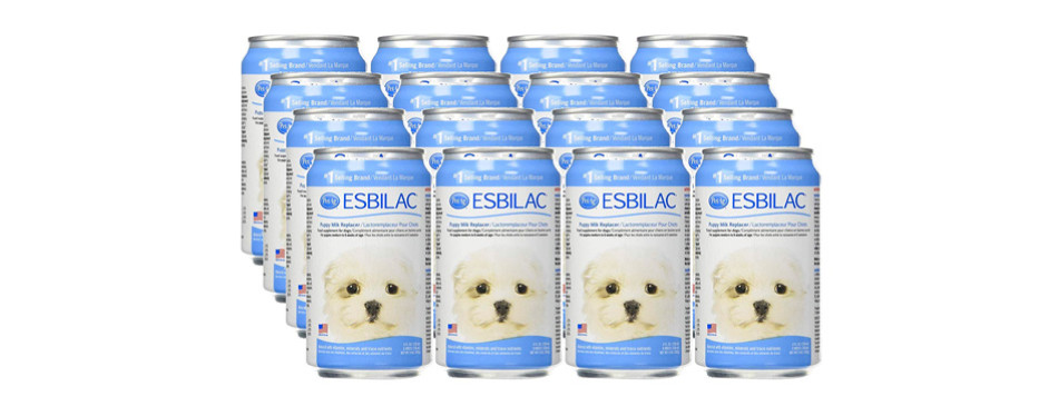 esbilac liquid puppy milk replacer