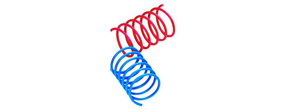 ethical pet wide durable colorful springs cat toy