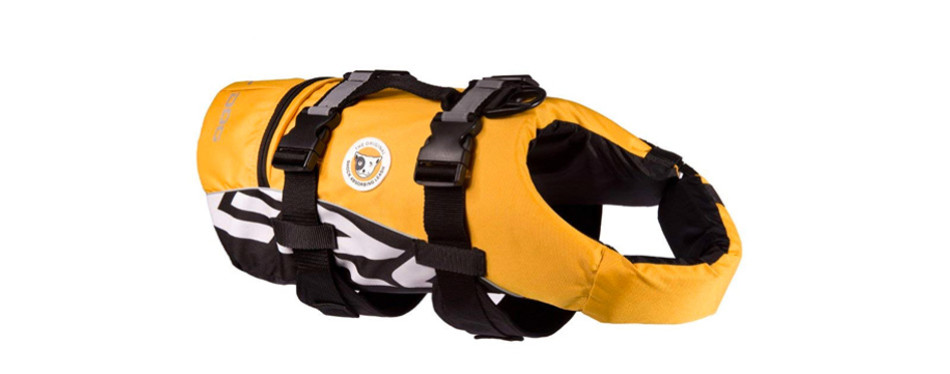 ezydog doggy flotation device dog life jacket