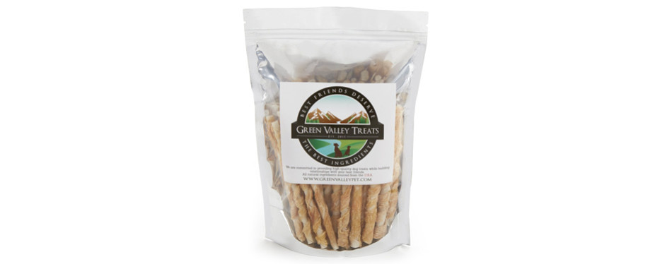 green valley treats rawhide chews