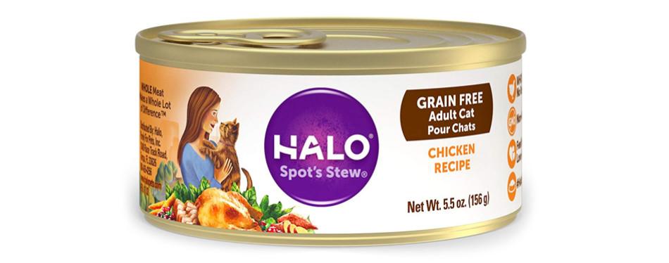 halo wet cat food
