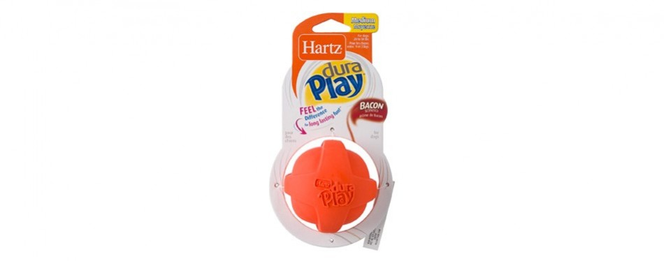 hartz dura play bacon scented dog toy