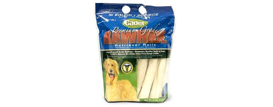 hdp cadet retriever rolls rawhide chews