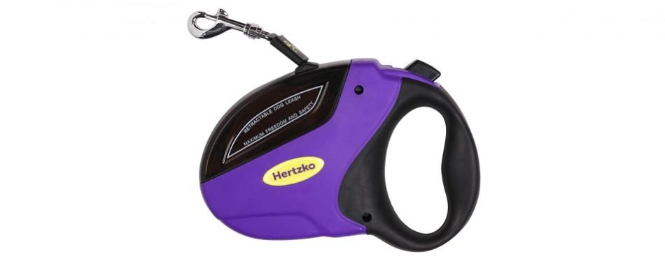 hertzko retractable dog leash