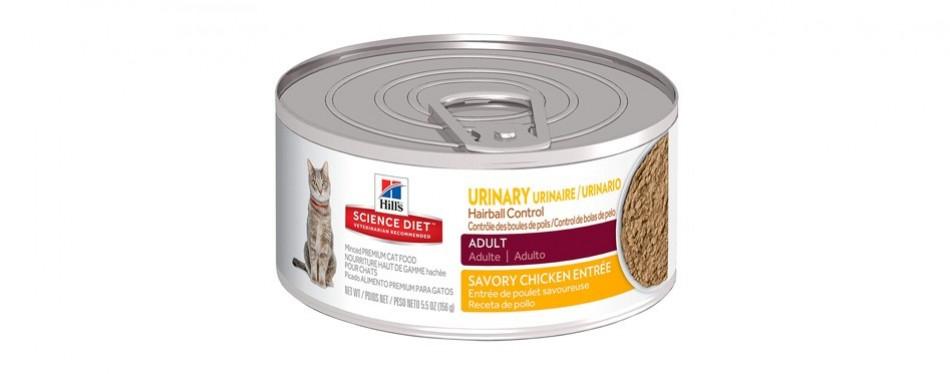 hill's science diet wet cat food