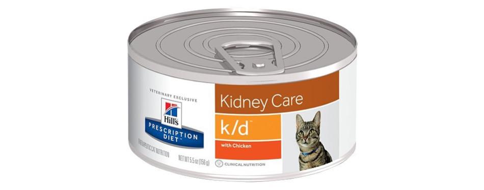 hills kidney care pet food