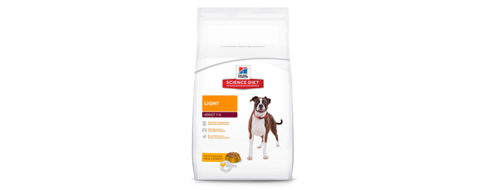 hill's science diet adult light low sodium dog food