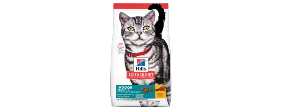 hills science diet dry cat food
