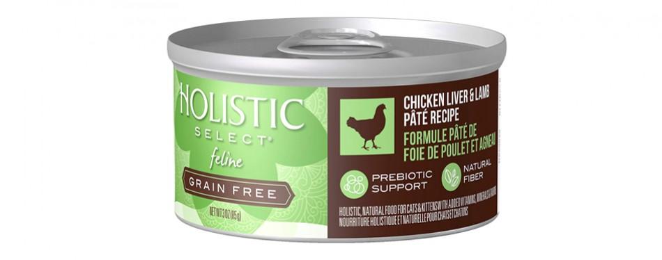 holistic select cat food