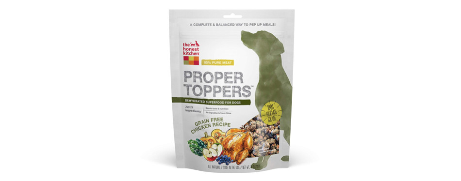 honest kitchen dehydrated dog food