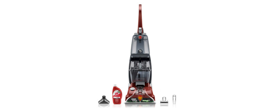 hoover power scrub deluxe carpet cleaner for pets