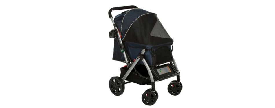 hpz pet rover premium heavy duty dog stroller