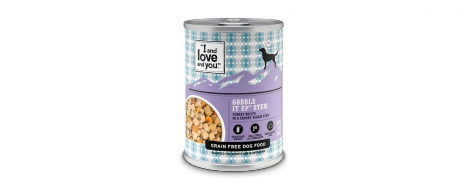 i and love and you grain free gobble it up stew
