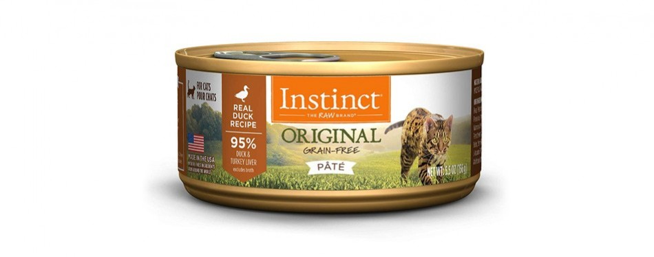 instinct by nature's variety original wet cat food