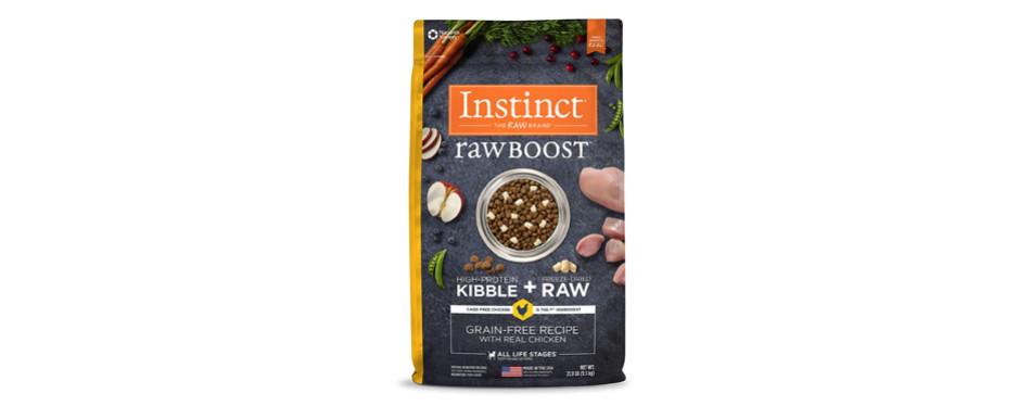 instinct dog food