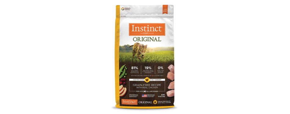 instinct dry cat food