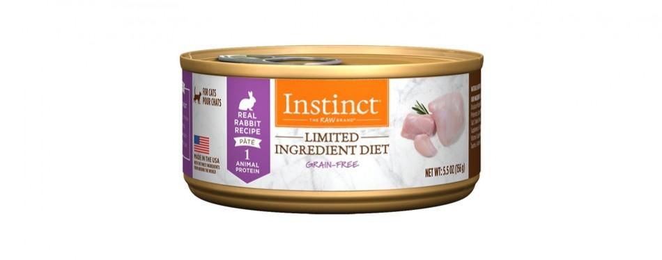 instinct limited ingredient diet high fiber cat food
