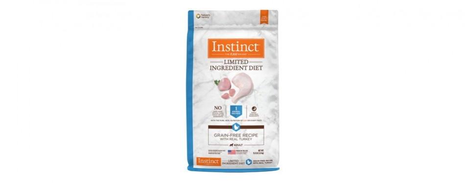 instinct limited ingredient dog food grain free