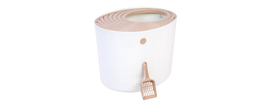 iris cat litter box