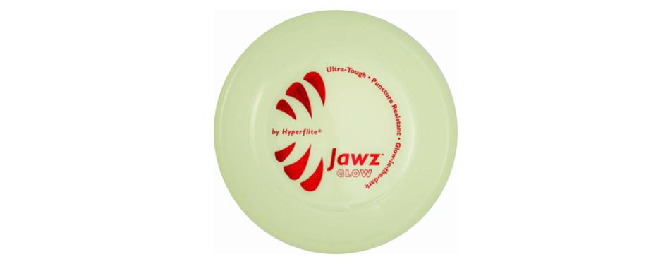 jawz glow dog disc