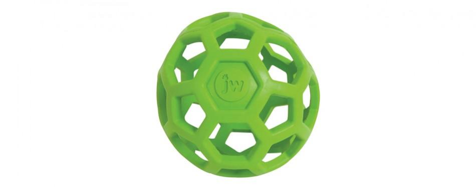 jw hol-ee roller original treat dispensing dog ball