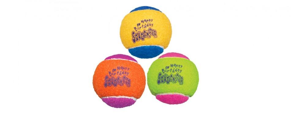kong air dog squeakair ball