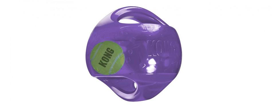 kong jumbler interactive fetch dog