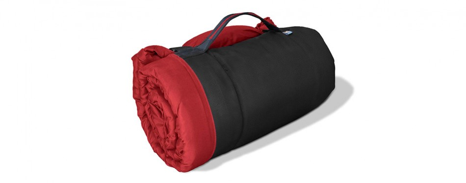 kurgo loft wander waterproof travel dog bed