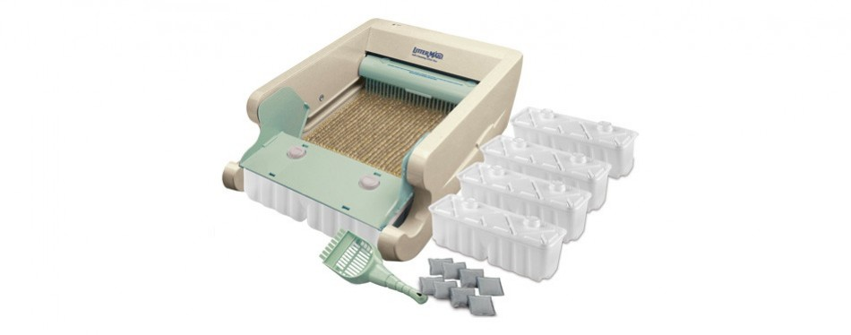littermaid classic series automatic self-cleaning litter box
