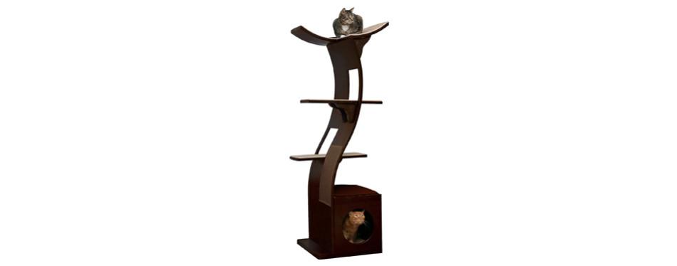 lotus cat tower