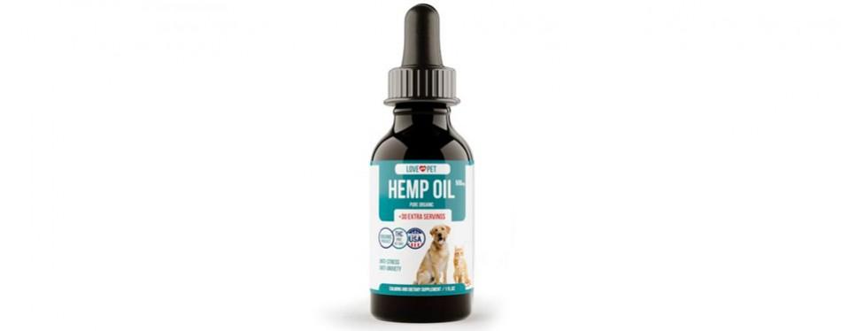 love my pet hemp cbd oil for dogs