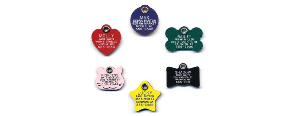 lucky pet tags