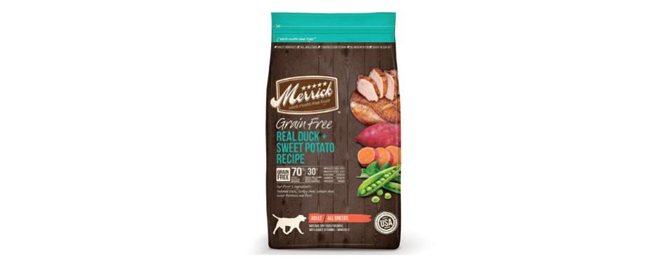 merrick dog food for pitbulls