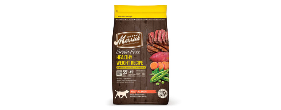 merrick grain free dog food for weight loss