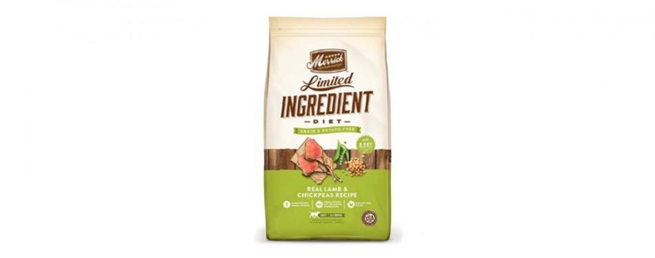 merrick limited ingredient dog food