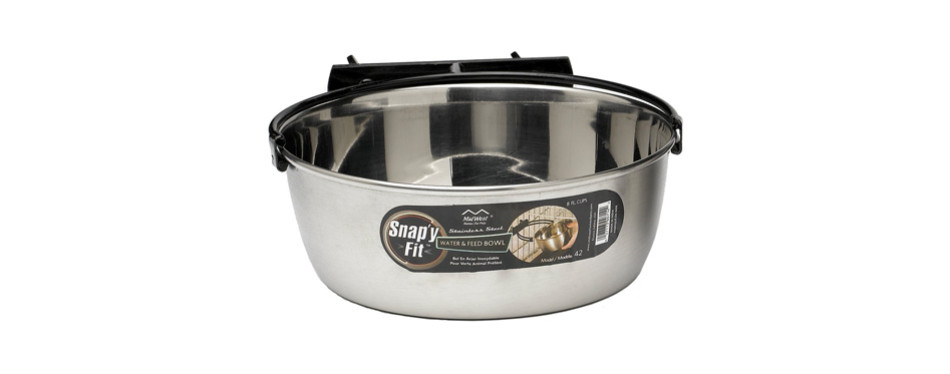 midwest homes stainless steel dog bowl