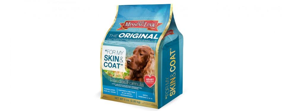 missing link dog food