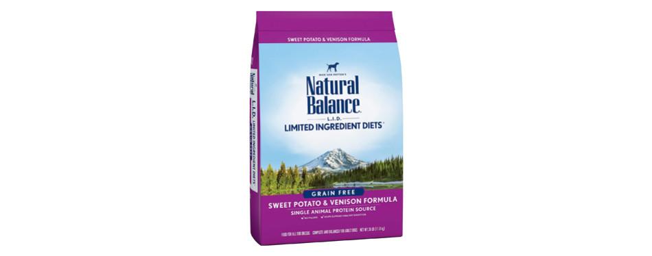 natural balance dog food for pitbulls