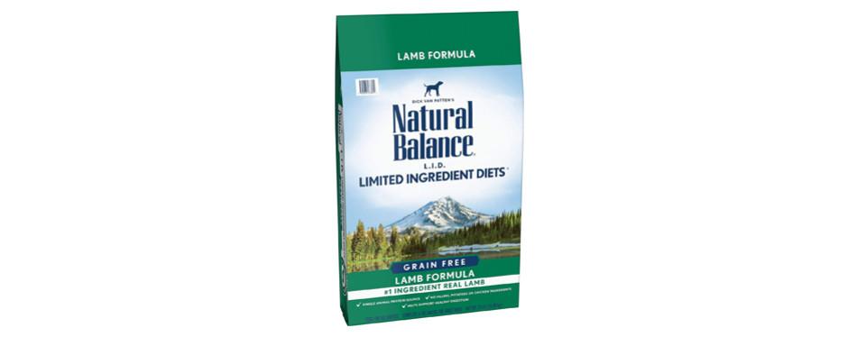 natural balance high protein dog food