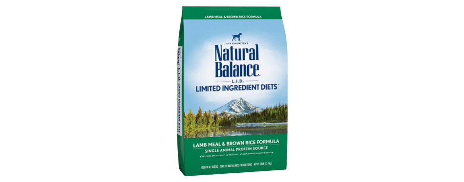 natural balance limited ingredient low sodium dog food