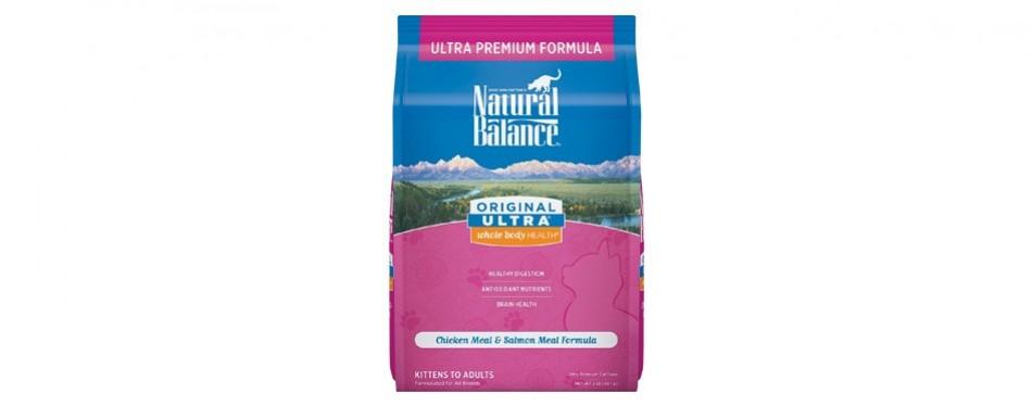 natural balance original high fiber cat food